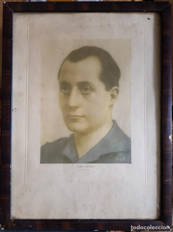 JOSÉ ANTONIO PRIMO DE RIVERA. RETRATO OFICIAL. (Militar - Fotografía Militar - Guerra Civil Española)