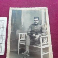 Militaria: MILITAR. SOPORTE DE CARTÓN. 1925. Lote 173575838