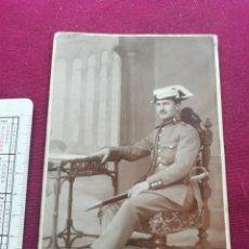 Militaria: GUARDIA CIVIL. OFICIAL. POSTAL EN SOPORTE DE CARTÓN. CÁMARA Y ROMERO FOTÓGRAFO (MADRID). Lote 173576079