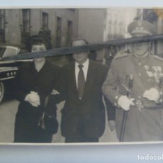 Militaria: FOTO DE TENIENTE CORONEL DE INTENDENCIA, VETERANO GUERRA CIVIL: ORDEN DEL AGUILA ALEMANA, ETC. Lote 173775097
