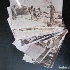 Militaria: LOTE DE 26 FOTOGRAFIAS MILITARES DEL SAHARA AÑOS 50 - LAS FOTOGRAFIAS SON COPIAS. Lote 173799004