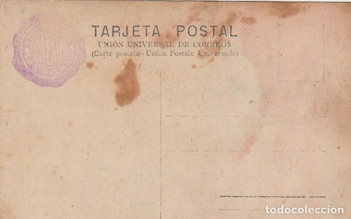 Militaria: Antigua foto Tarjeta Postal Militar sable Cuerpo Ingenieros Alfonso XIII Ojeda, Las Palmas 10-20s ff - Foto 2 - 173958910