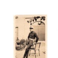 Militaria: FOTOGRAFÍA MILITARE CUERPO DE ARTILLERÍA ALFONSO XIII - 8,5 X 6. Lote 174175527