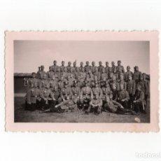 Militaria: FOTOGRAFÍA SOLDADOS ALEMANES DE LA WEHRMACHT - 10 X 6,5. Lote 174181439