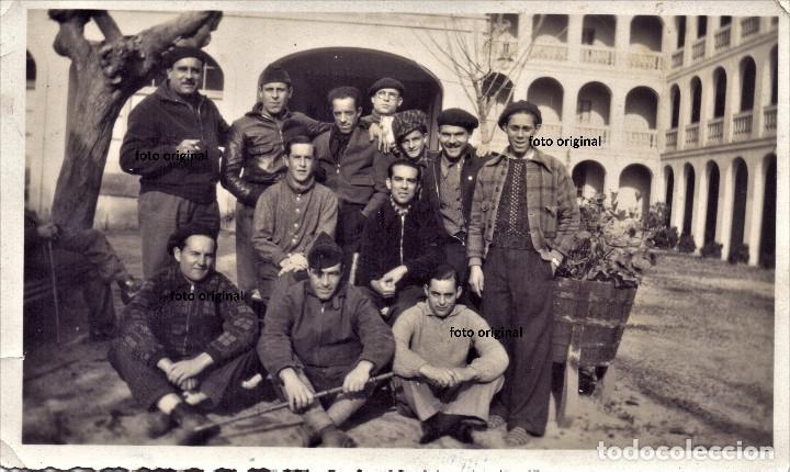 BRIGADAS INTERNACIONALES FRANCESES REPUBLICA ESPAÑOLA FRENTE POPULAR GUERRA CIVIL (Militar - Fotografía Militar - Guerra Civil Española)