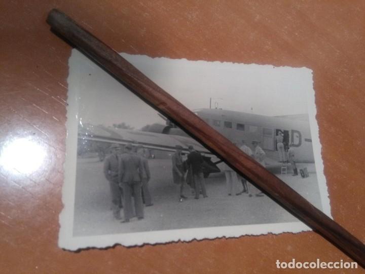 FOTO LEGION CONDOR JUNKER52.LA SENIA (Militar - Fotografía Militar - Guerra Civil Española)