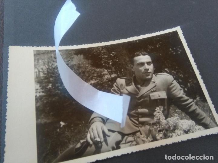 FOTO SOLDADO ITALIANO (Militar - Fotografía Militar - Guerra Civil Española)