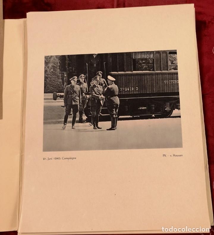 Militaria: Carpetas Fotos Ejército de Küchler - Foto 4 - 174497730
