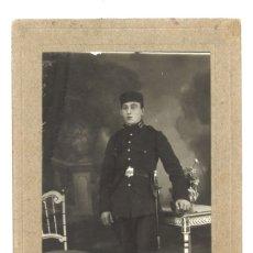 Militaria: SOLDADO DE INTENDENCIA. FOTO GRACIA. ZARAGOZA. Lote 174519012