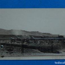 Militaria: FOTOGRAFÍA MILITAR. ARTÍLLERÍA. BATERÍA DE OBUSES 15,5. CAMPAMENTO DE DAR-QUEBDANI.. Lote 175280603