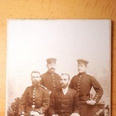 Militaria: FOTOGRAFIA MILITARES ALEMANES, AÑO 1895. Lote 175298780
