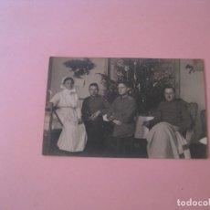 Militaria: FOTO ORIGINAL. I GUERRA MUNDIAL. EN EL HOSPITAL. ALEMANIA. ESCRITA POR DETRAS. 14X9 CM.. Lote 175359219