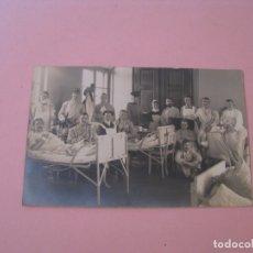 Militaria: FOTO ORIGINAL. I GUERRA MUNDIAL. EN EL HOSPITAL. ALEMANIA. PHOTO ATELIER WILLI WOLF. WURZEN. 14X9 CM. Lote 175359325