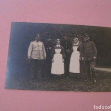Militaria: FOTO ORIGINAL. I GUERRA MUNDIAL. HOSPITAL. ALEMANIA. PHOTO C. JANETZKY, HERFORD. 14X9 CM. Lote 175359382