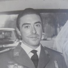 Militaria: FOTOGRAFÍA PILOTO OBSERVADOR AVIACIÓN. MADRID. Lote 175363340