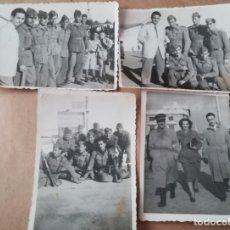 Militaria: LOTE FOTOGRAFIA MILITARES, AÑOS 40. Lote 175427647