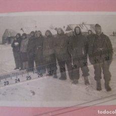 Militaria: PRISIONEROS ALEMANES EN RUSIA. SEGUNDA GUERRA MUNDIAL. LEER LA DESCRIPCIÓN. 13X8,5 CM.. Lote 175535865