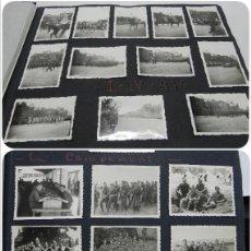Militaria: ALBUM FOTOGRAFICO DEL DESFILE DE LA VICTORIA DE 1946, GUARDIA MORA DE FRANCO, CAMPAMENTO DE MILICIAS. Lote 175567657