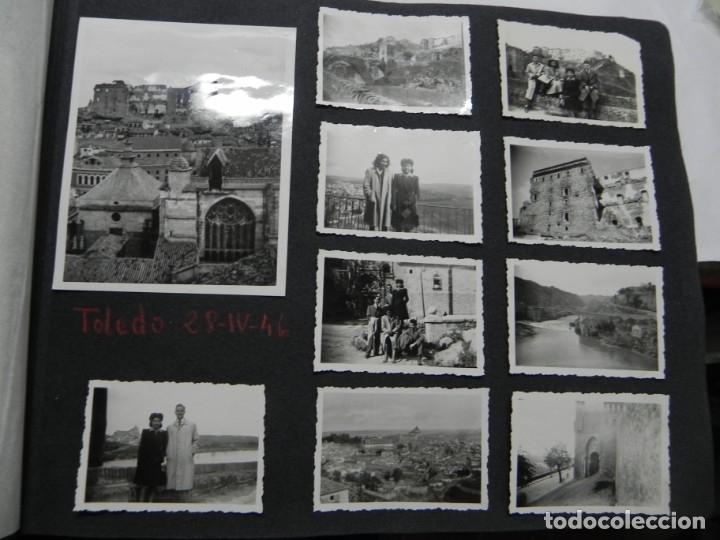 Militaria: ALBUM FOTOGRAFICO DEL DESFILE DE LA VICTORIA DE 1946, GUARDIA MORA DE FRANCO, CAMPAMENTO DE MILICIAS - Foto 5 - 175567657