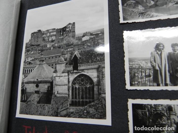 Militaria: ALBUM FOTOGRAFICO DEL DESFILE DE LA VICTORIA DE 1946, GUARDIA MORA DE FRANCO, CAMPAMENTO DE MILICIAS - Foto 6 - 175567657