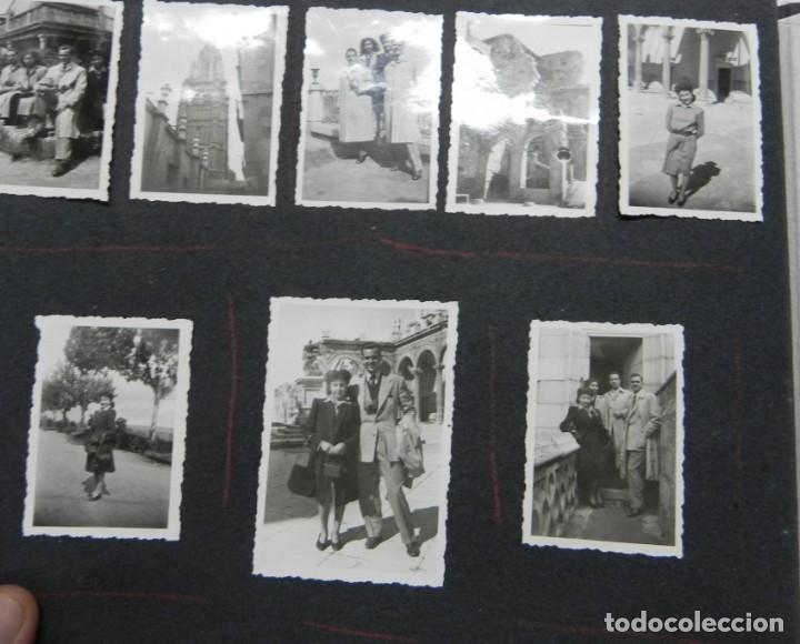 Militaria: ALBUM FOTOGRAFICO DEL DESFILE DE LA VICTORIA DE 1946, GUARDIA MORA DE FRANCO, CAMPAMENTO DE MILICIAS - Foto 8 - 175567657