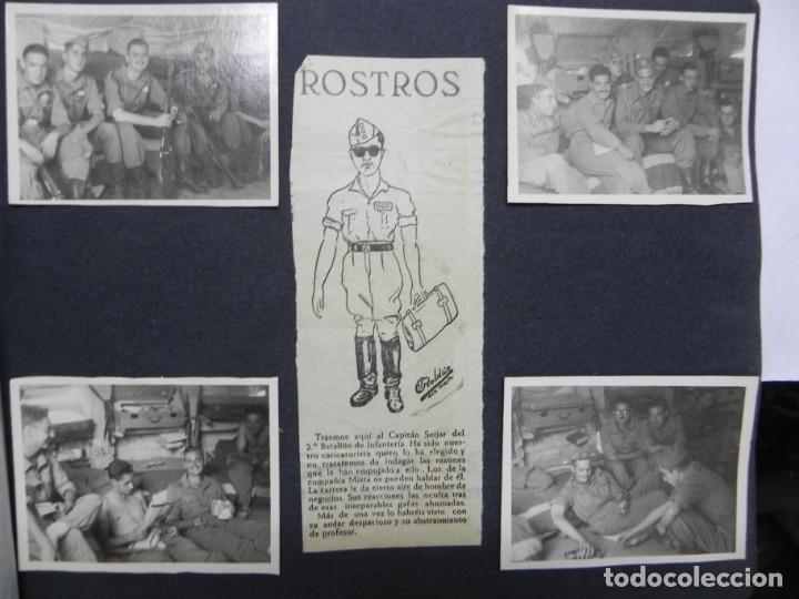 Militaria: ALBUM FOTOGRAFICO DEL DESFILE DE LA VICTORIA DE 1946, GUARDIA MORA DE FRANCO, CAMPAMENTO DE MILICIAS - Foto 14 - 175567657