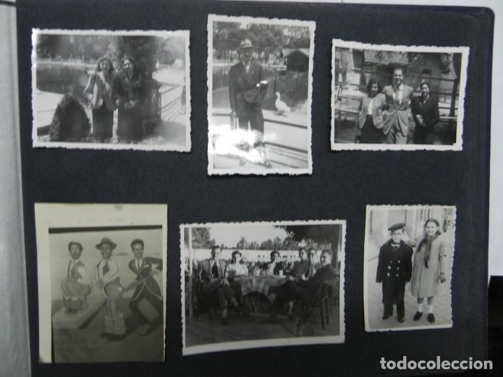 Militaria: ALBUM FOTOGRAFICO DEL DESFILE DE LA VICTORIA DE 1946, GUARDIA MORA DE FRANCO, CAMPAMENTO DE MILICIAS - Foto 17 - 175567657