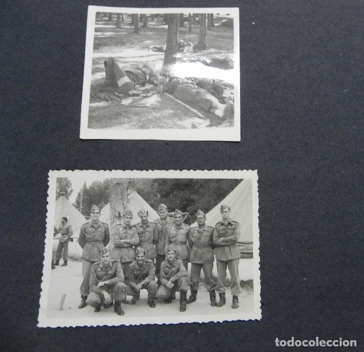Militaria: ALBUM FOTOGRAFICO DEL DESFILE DE LA VICTORIA DE 1946, GUARDIA MORA DE FRANCO, CAMPAMENTO DE MILICIAS - Foto 21 - 175567657