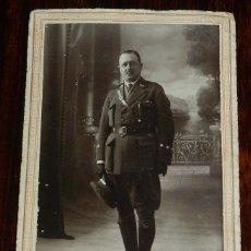 Militaria: FOTOGRAFIA DE CAPITAN, FOTO GAFER, A. GAVILAN (LARACHE), MIDE 15,5 X 10 CMS.. Lote 175760112
