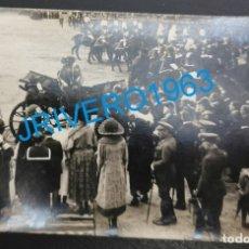 Militaria: SEVILLA,1922,LA REINA VICTORIA ACTOS ENTREGA BANDERA A LOS REGULARES DE LARACHE,HISTORICA. Lote 175859272