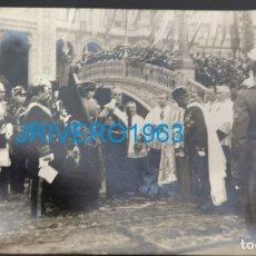 Militaria: SEVILLA,1922,LA REINA VICTORIA ACTOS ENTREGA BANDERA A LOS REGULARES DE LARACHE,HISTORICA. Lote 175859294