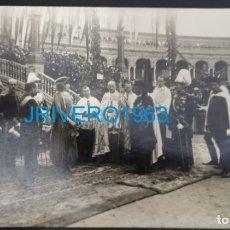 Militaria: SEVILLA,1922,LA REINA VICTORIA ACTOS ENTREGA BANDERA A LOS REGULARES DE LARACHE,HISTORICA. Lote 175859352