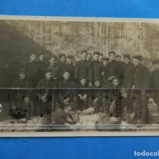 Militaria: FOTOGRAFÍA. MILITAR ESPAÑOL. GRUPO SOLDADOS.. Lote 175922927