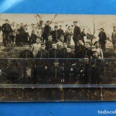 Militaria: FOTOGRAFÍA. MILITAR ESPAÑOL. GRUPO SOLDADOS.. Lote 175923334