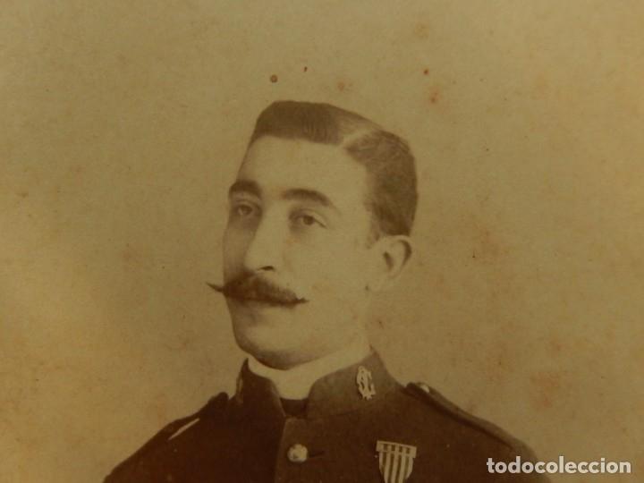 Militaria: Fotografía. Militar español - Foto 2 - 176010518