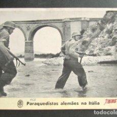 Militaria: PARACAIDISTAS ALEMANES EN ITALIA. ALEMANIA NAZI. II GUERRA MUNDIAL. . Lote 176015997