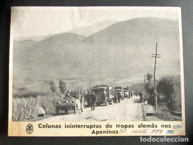 TROPAS ALEMANAS INTERRUMPIDAS EN LOS APENINOS. ALEMANIA NAZI. II GUERRA MUNDIAL. (Militar - Fotografía Militar - II Guerra Mundial)