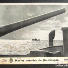 Militaria: BUQUES ALEMANES DE SUPERVISIÓN. ALEMANIA NAZI. II GUERRA MUNDIAL. . Lote 176016293