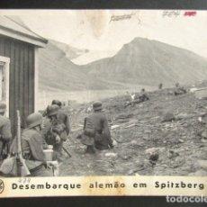 Militaria: DESEMBARQUE ALEMÁN EN SPITZBERG, NORUEGA. ALEMANIA NAZI. II GUERRA MUNDIAL. . Lote 176016432