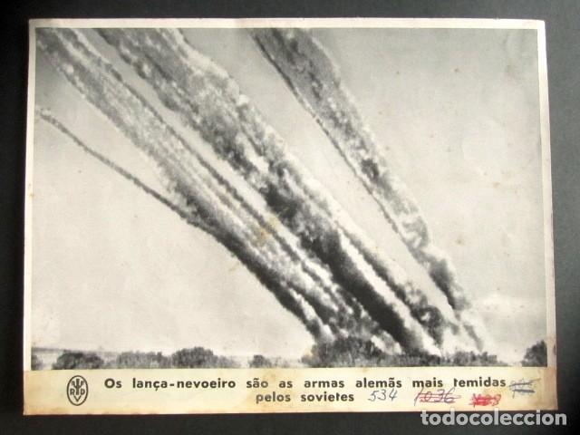 LOS LANZA MISILES SON LAS ARMAS ALEMANAS MÁS TEMIDAS POR LOS SOVIÉTICOS. II GUERRA MUNDIAL. (Militar - Fotografía Militar - II Guerra Mundial)