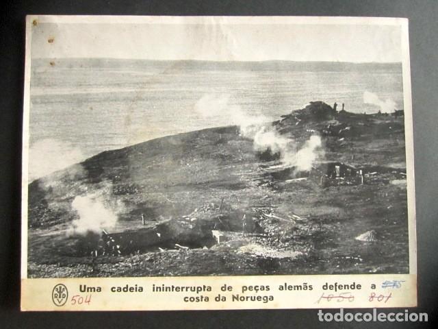 ALEMANES DEFIENDE LA COSTA DE NORUEGA. ALEMANIA NAZI. II GUERRA MUNDIAL. (Militar - Fotografía Militar - II Guerra Mundial)