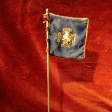 Militaria: ANTIGUO ESTANDARTE DE SOBREMESA - FRENTE DE JUVENTUDES, O.J.E. - BANDERA OJE. Lote 176068969