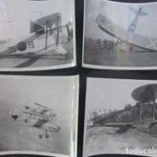 Militaria: CONJUNTO 83 FOTOGRAFIAS AVIONES GUERRA CIVIL BANDO NACIONAL AERODROMO DE DE CEUTA Y OTROS ME 109. Lote 176079747