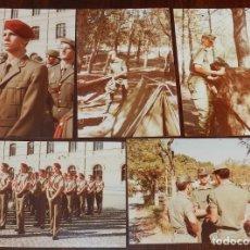 Militaria: LOTE DE 5 FOTOGRAFIAS DEL REY FELIPE VI CUANDO ERA PRINCIPE DE ASTURIAS EN LA ACADEMIA MILITAR, CADA. Lote 176161584