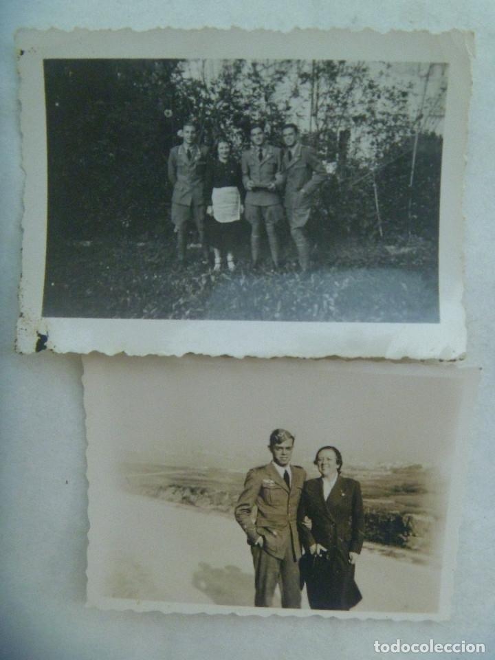 Militaria: GUERRA CIVIL - AVIACION: LOTE PILOTO NACIONAL DE LUGO, HIZO CURSO EN ITALIA, CARNET CONDUCIR Y FOTOS - Foto 4 - 176202179