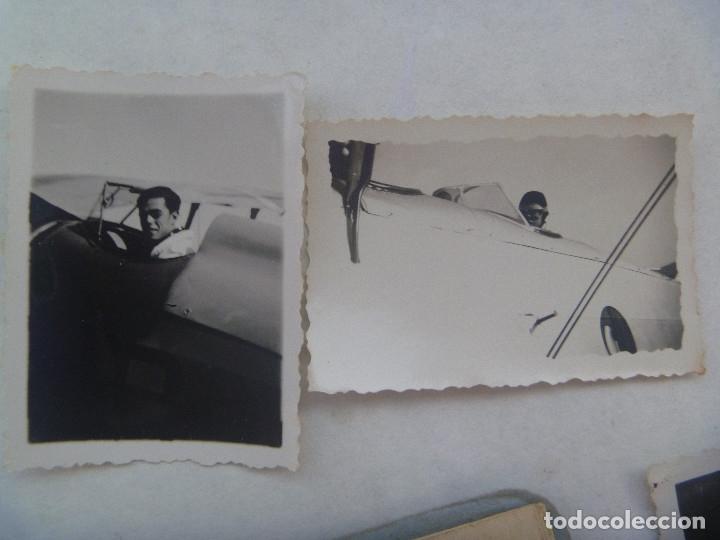 Militaria: GUERRA CIVIL - AVIACION: LOTE PILOTO NACIONAL DE LUGO, HIZO CURSO EN ITALIA, CARNET CONDUCIR Y FOTOS - Foto 5 - 176202179