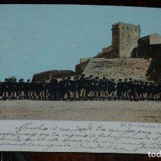 Militaria: POSTAL DE TARRAGONA, TORRE DEL ARZOBISPO, N.18, SEBASTIAN CARDONA, CIRCULADA, SIN DIVIDIR. . Lote 176237163