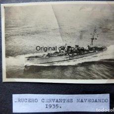Militaria: (JX-190965)FOTOGRAFÍA DE ÁLBUM PERSONAL DE MARINERO DEL CRUCERO MENDEZ NUÑEZ EN EL PERIODO 1935-1937. Lote 176257877