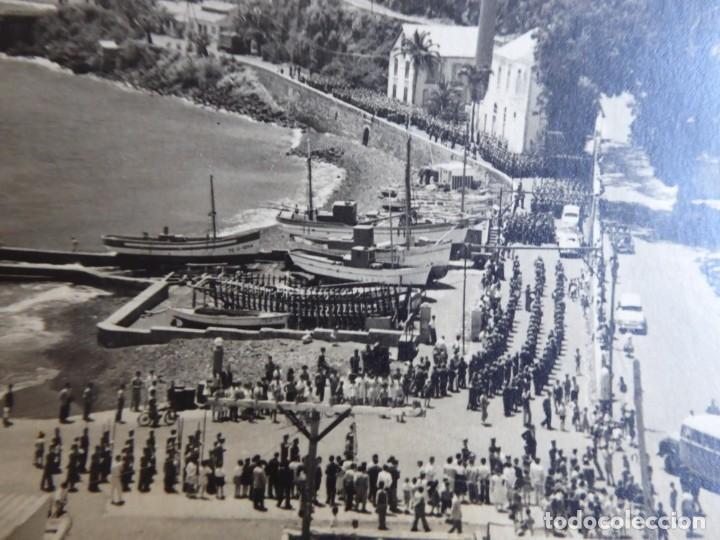 FOTOGRAFÍA SOLDADOS DEL EJÉRCITO ESPAÑOL. SANTA CRUZ DE LA PALMA 1959 (Militar - Fotografía Militar - Otros)