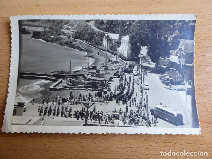 Militaria: Fotografía soldados del ejército español. Santa Cruz de la Palma 1959 - Foto 2 - 176276164